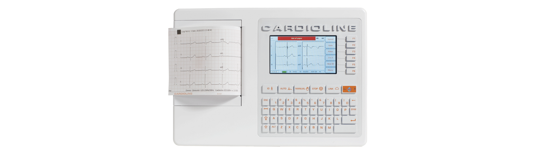 EKG, Elektrokardiograf